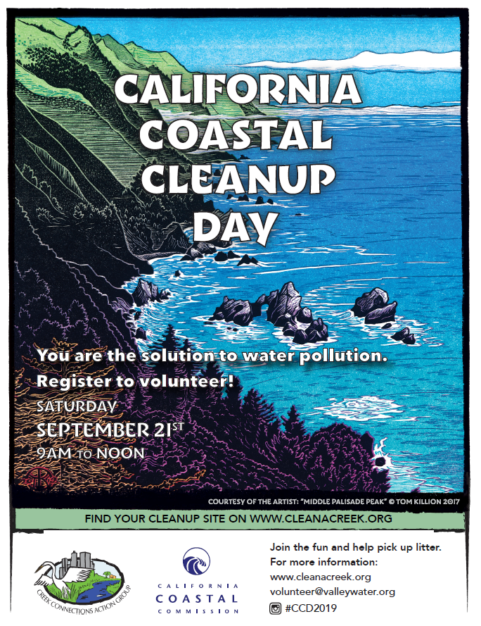 2019 CA Coastal Cleanup Day Flyer