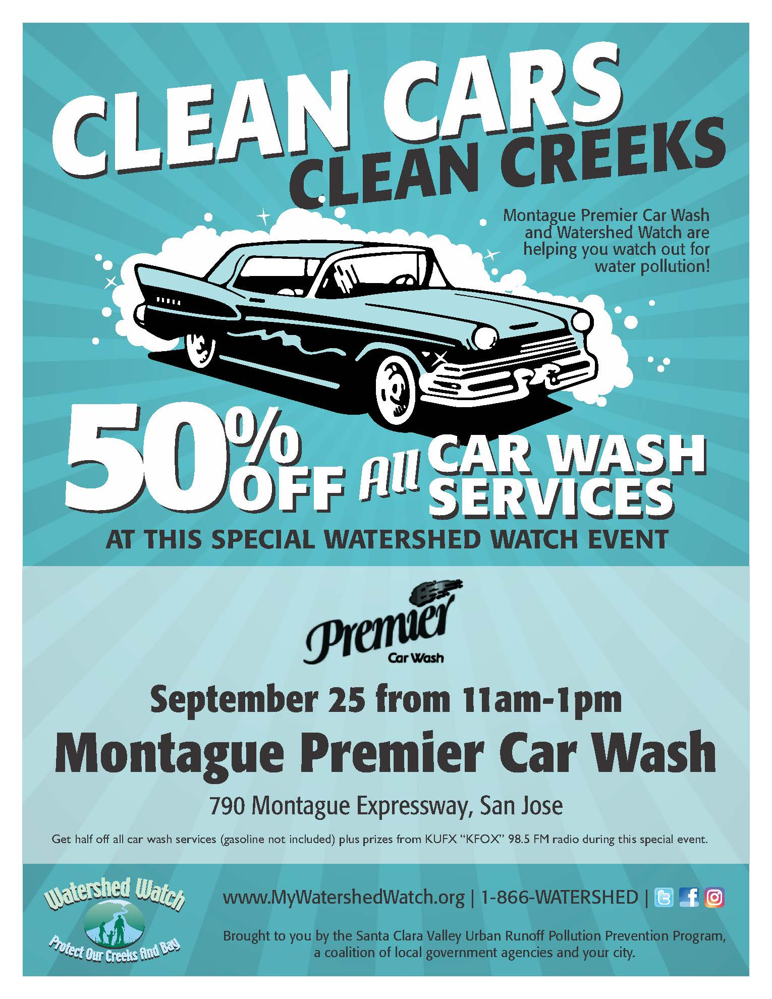 Montague Car Wash Flyer 9-25-19
