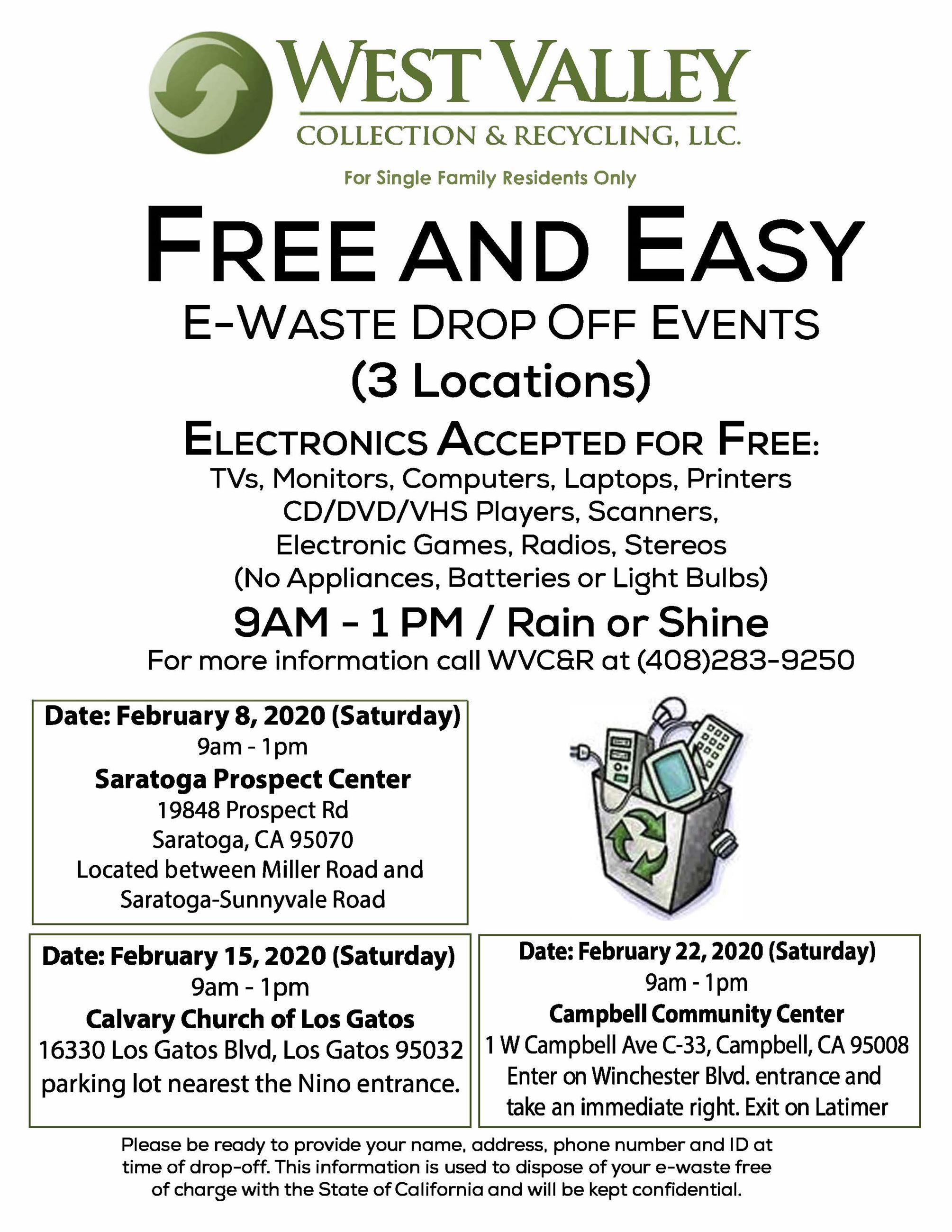 EWaste Flyer Winter 2020